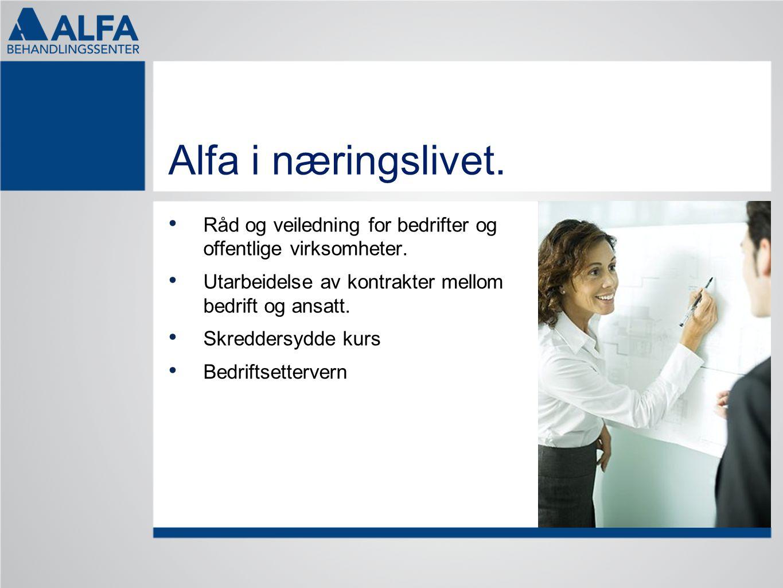 Alfa i næringslivet. Råd og veiledning for bedrifter og offentlige virksomheter. Utarbeidelse av kontrakter mellom bedrift og ansatt.