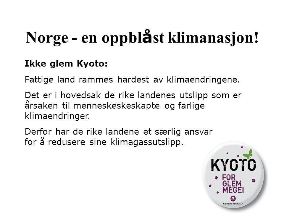 Norge - en oppblåst klimanasjon!