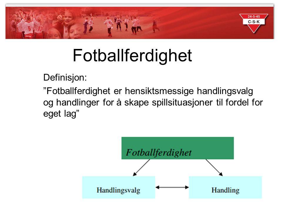 Fotballferdighet Definisjon:
