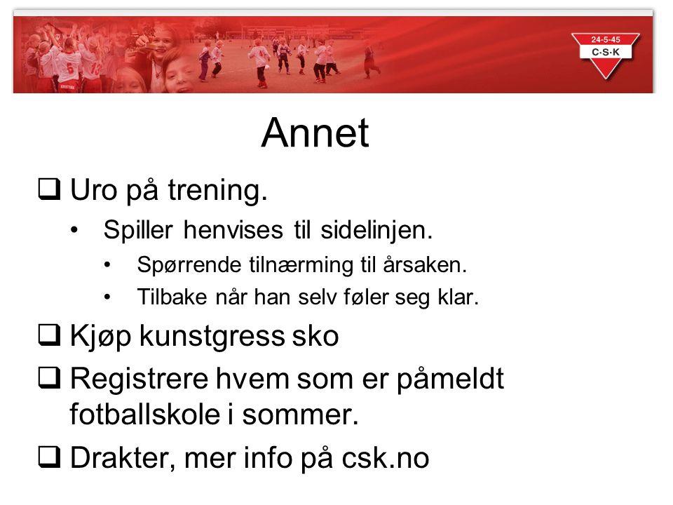Annet Uro på trening. Kjøp kunstgress sko