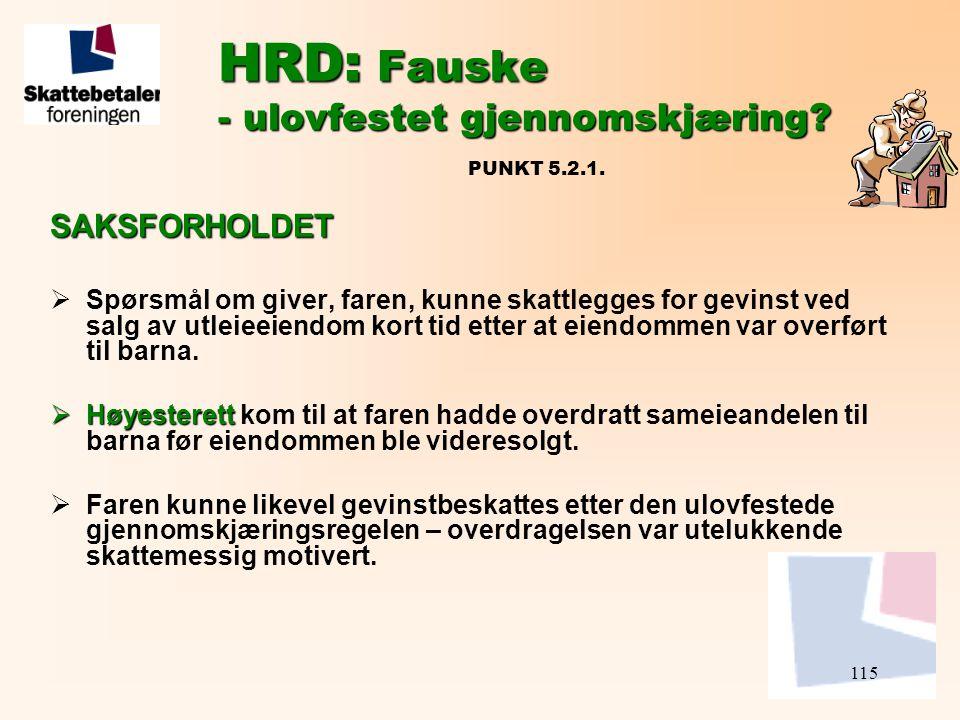 HRD: Fauske - ulovfestet gjennomskjæring PUNKT 5.2.1.