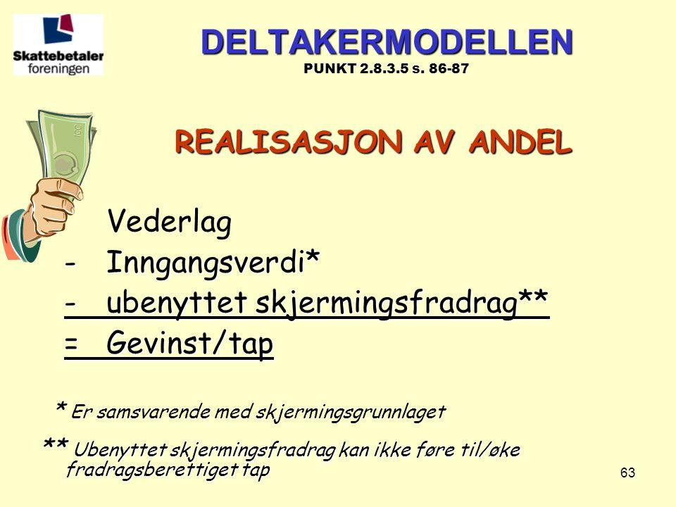 DELTAKERMODELLEN PUNKT 2.8.3.5 s. 86-87