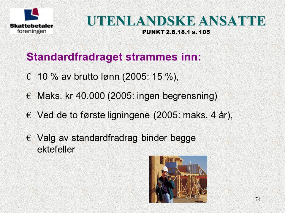 UTENLANDSKE ANSATTE PUNKT 2.8.18.1 s. 105