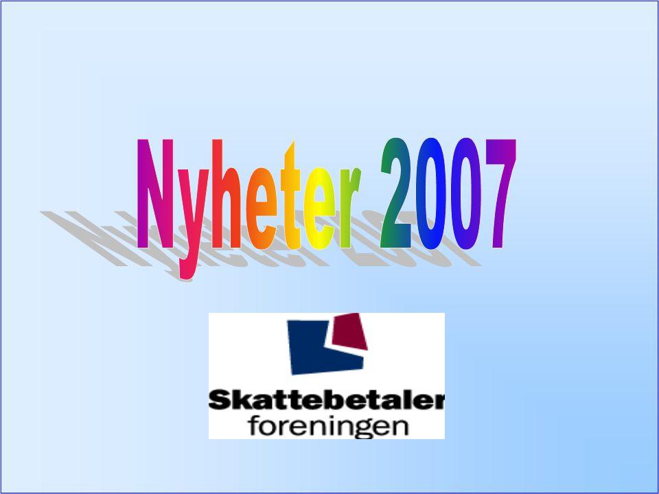 Nyheter 2007