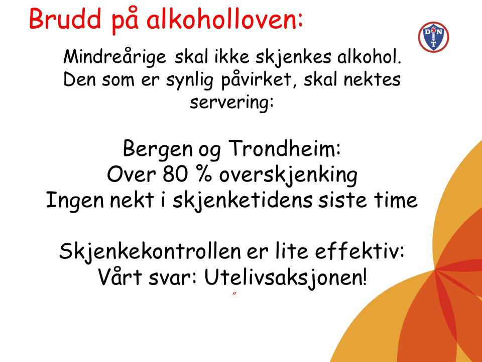 Brudd på alkoholloven: