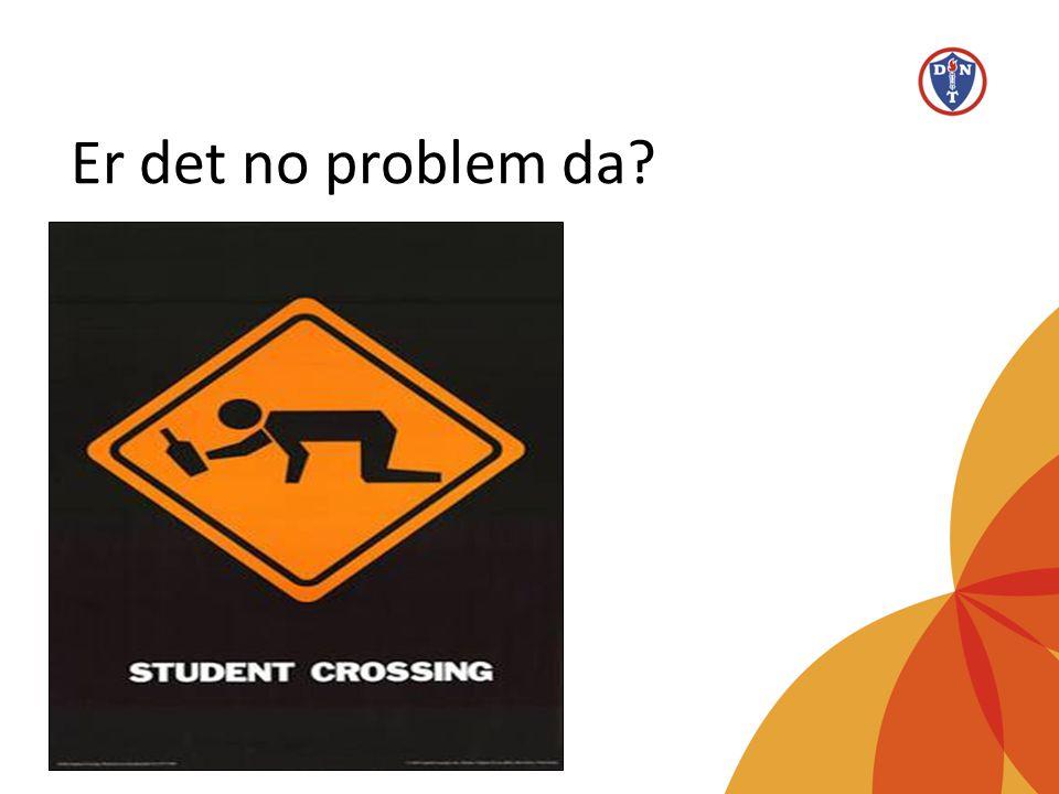 Er det no problem da Alkoholbruk blant studenter vanlig – er det så farlig