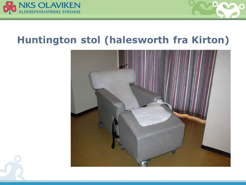 Huntington stol (halesworth fra Kirton)