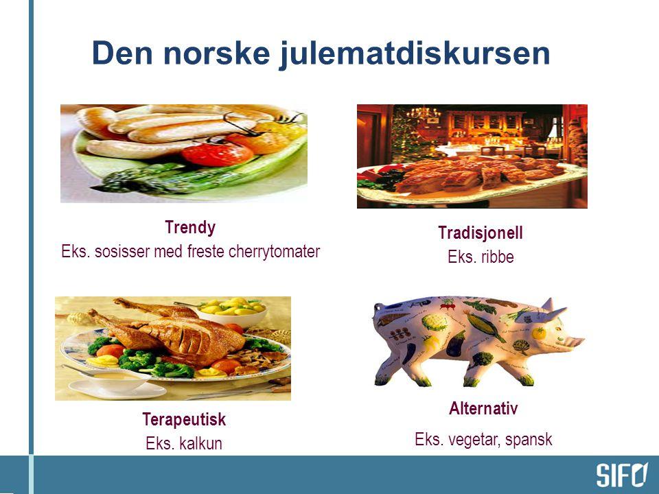 Den norske julematdiskursen
