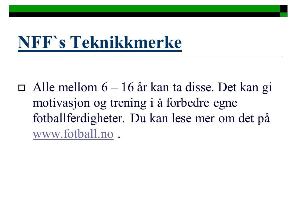 NFF`s Teknikkmerke
