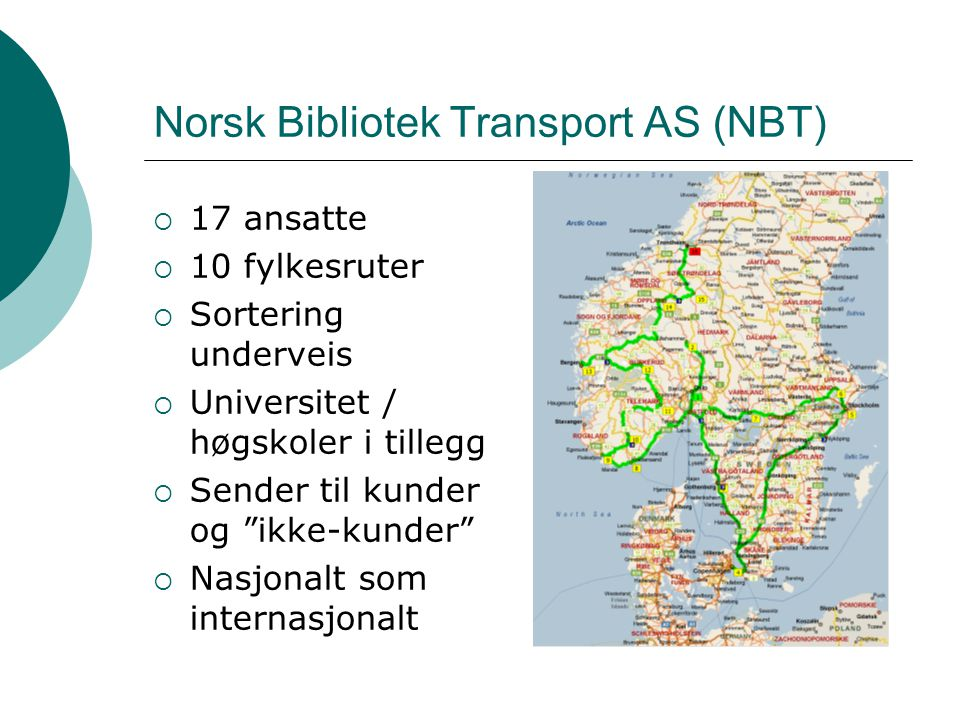 Norsk Bibliotek Transport AS (NBT)