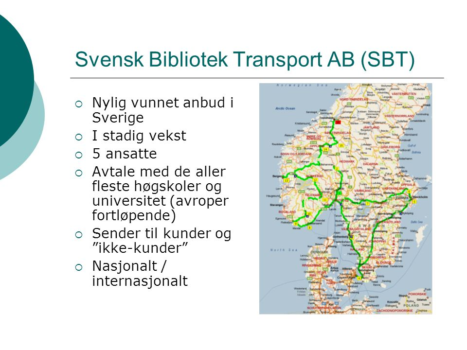 Svensk Bibliotek Transport AB (SBT)