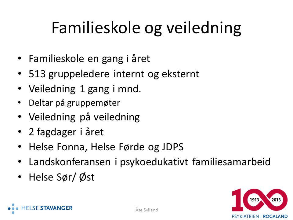 Familieskole og veiledning