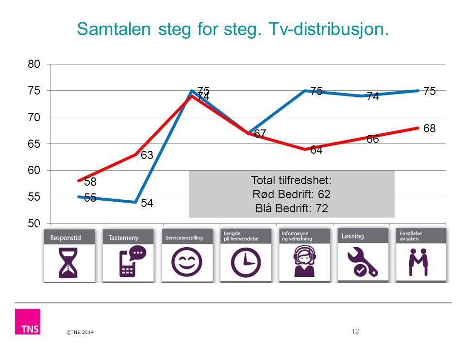 Samtalen steg for steg. Tv-distribusjon.