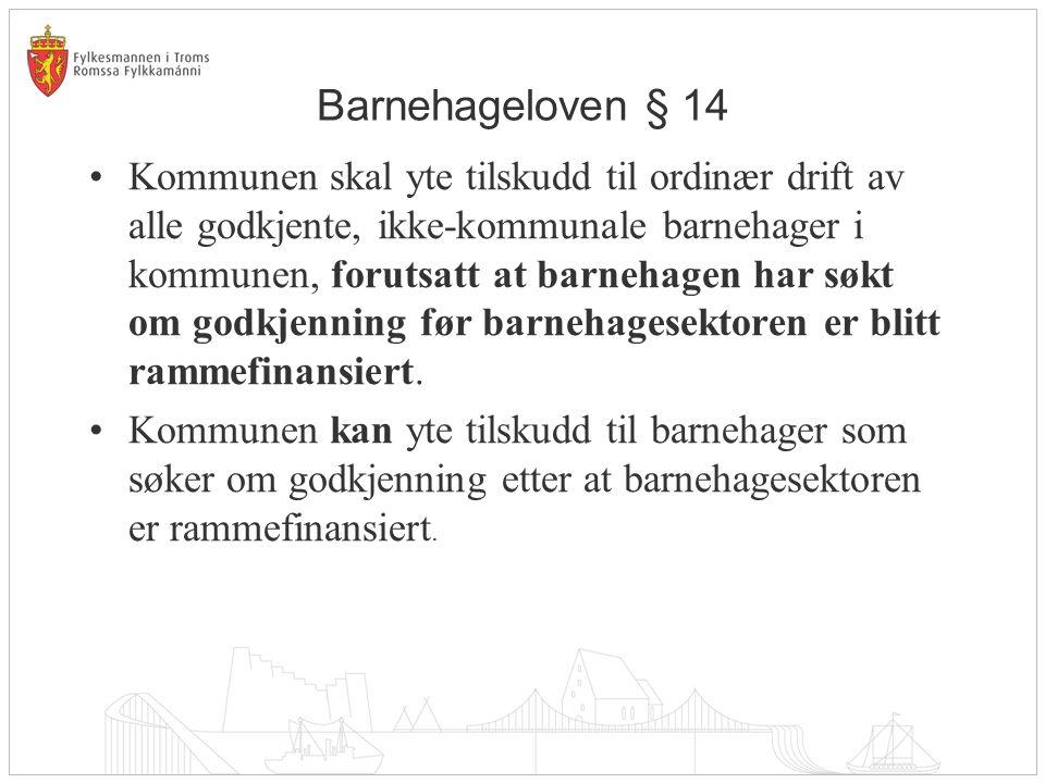 Barnehageloven § 14