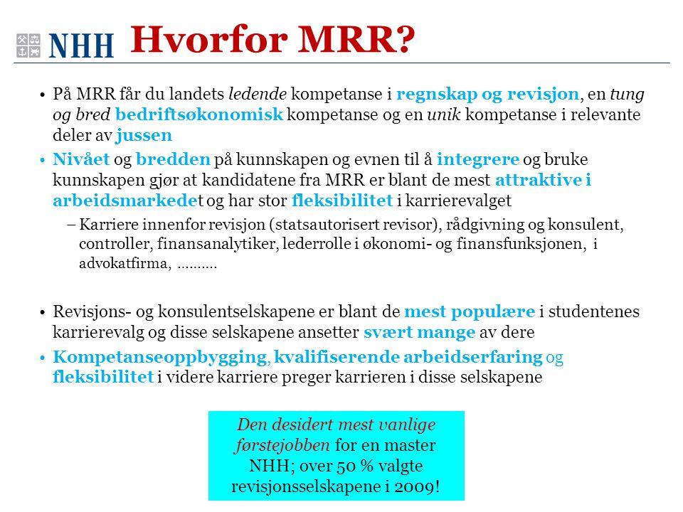 Hvorfor MRR