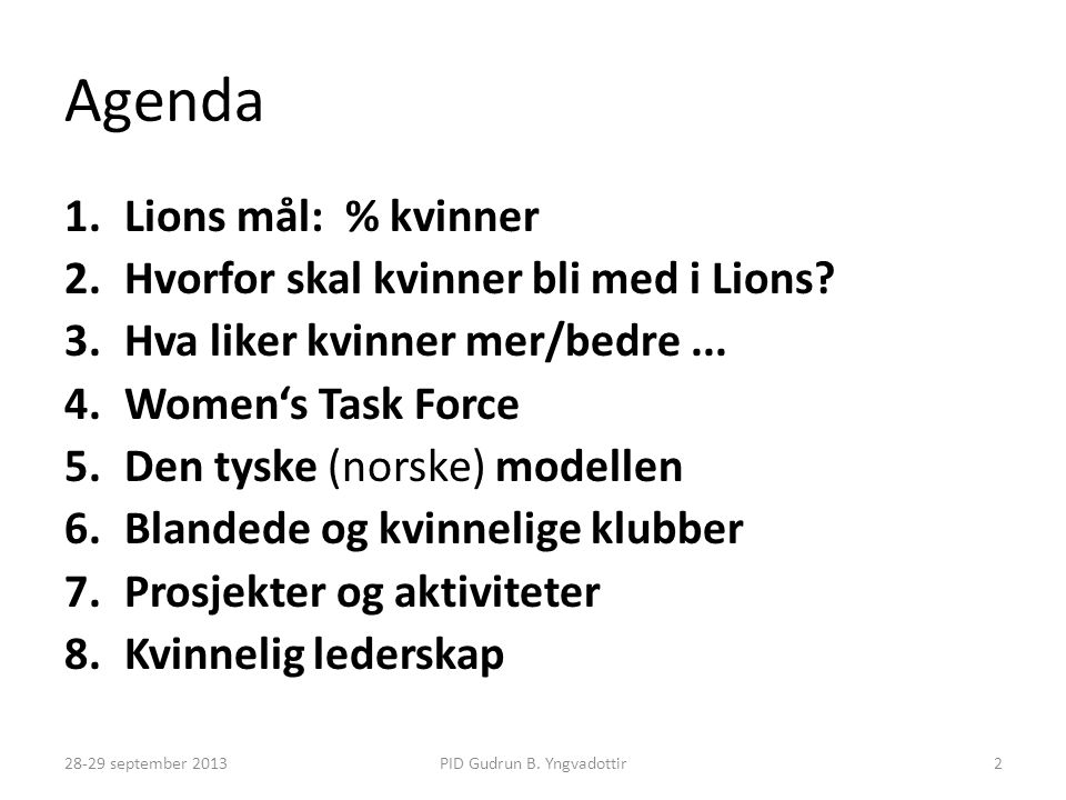 Kvinnekonferanse i Ålesund