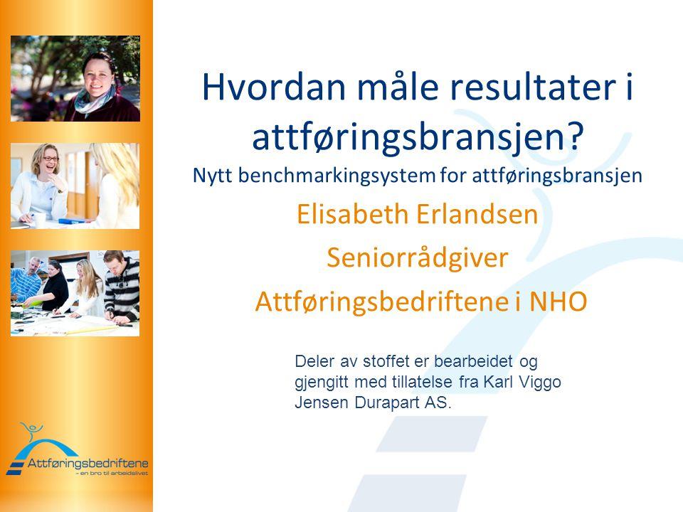 Elisabeth Erlandsen Seniorrådgiver Attføringsbedriftene i NHO