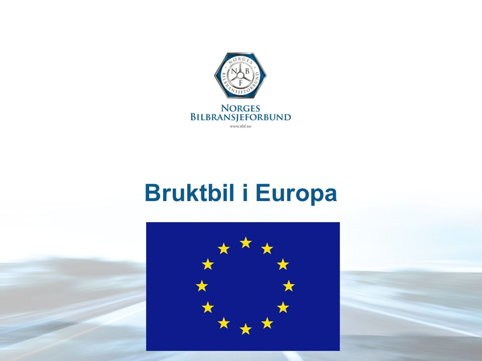 Bruktbil i Europa
