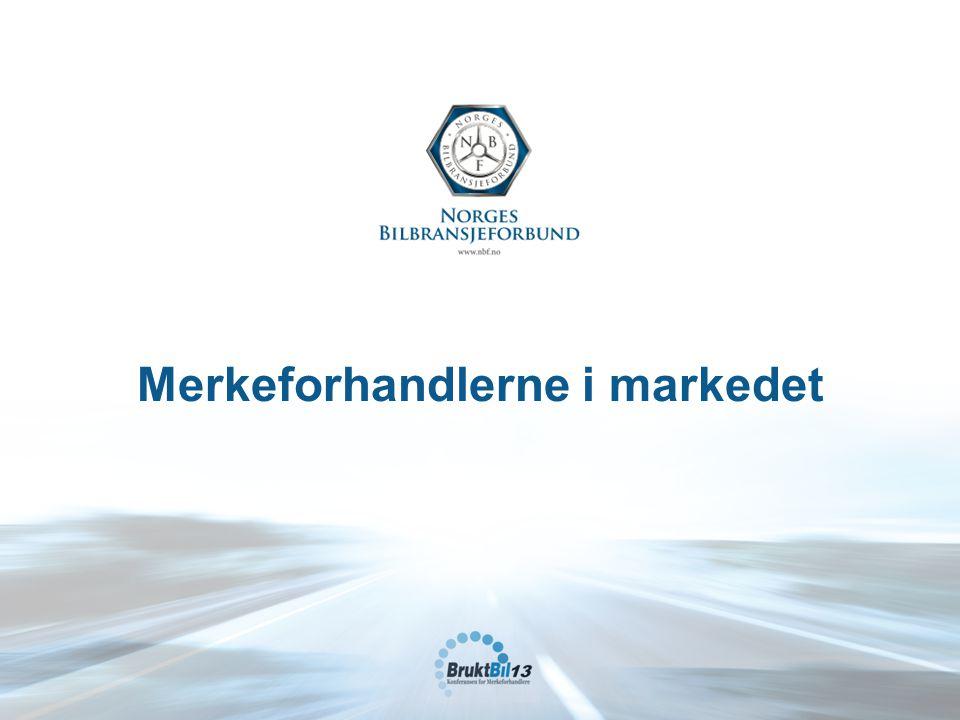 Merkeforhandlerne i markedet