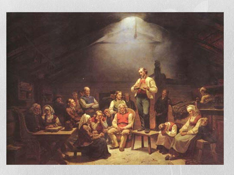 Lekmannsbevegelsen vokste frem som en folkeliggjøring av kirken, som støttet at lekfolk kunne preke Guds ord