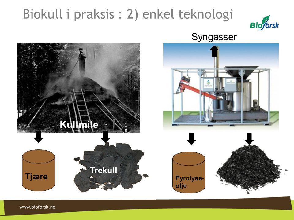 Biokull i praksis : 2) enkel teknologi