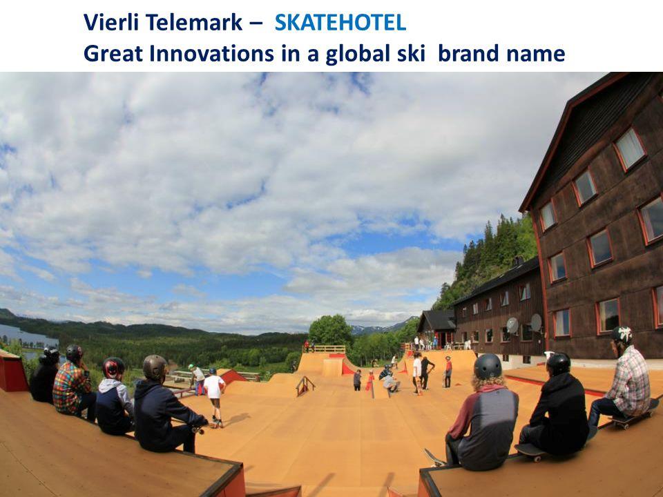 Vierli Telemark – SKATEHOTEL