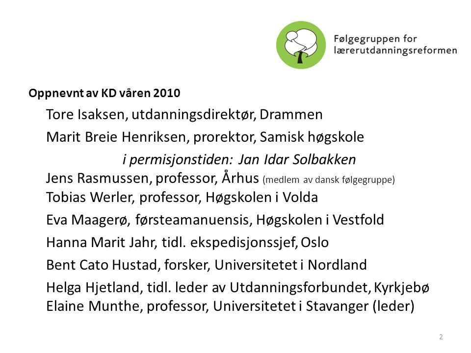 Marit Breie Henriksen, prorektor, Samisk høgskole