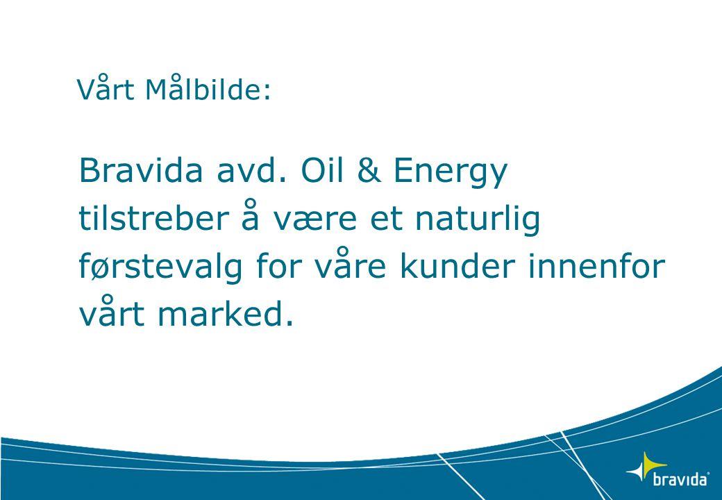 Bravida avd. Oil & Energy tilstreber å være et naturlig