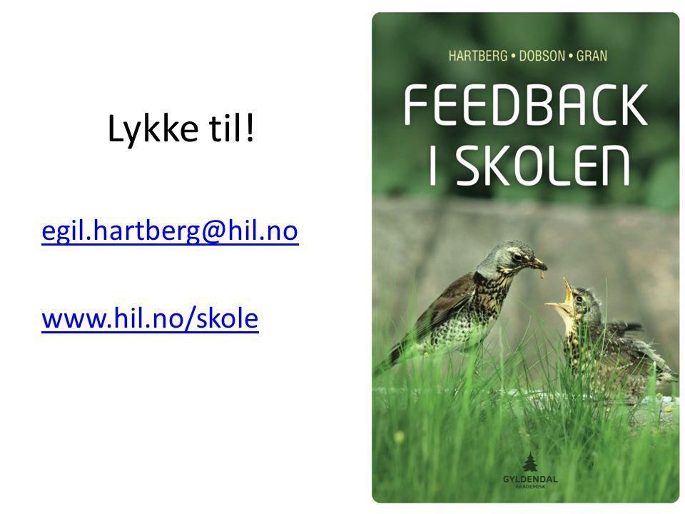 Lykke til! egil.hartberg@hil.no www.hil.no/skole