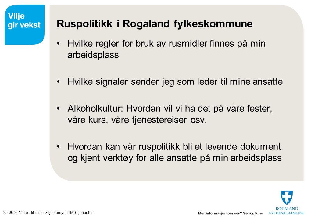Ruspolitikk i Rogaland fylkeskommune
