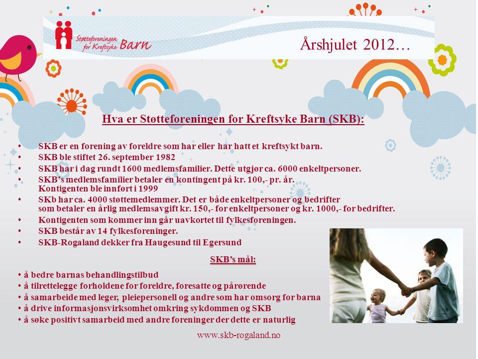 Hva er Støtteforeningen for Kreftsyke Barn (SKB):