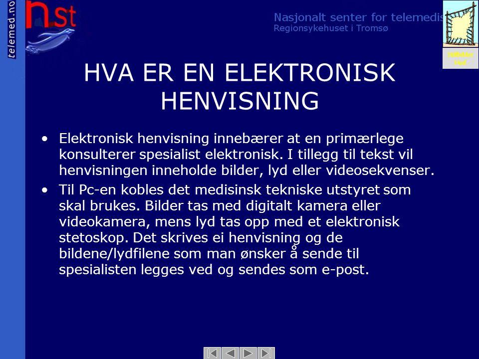 HVA ER EN ELEKTRONISK HENVISNING