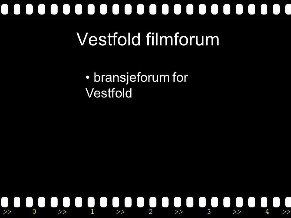 Vestfold filmforum bransjeforum for Vestfold