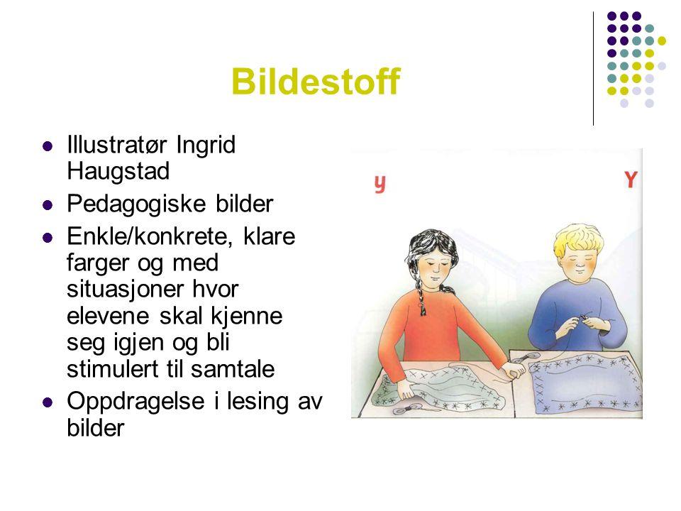 Bildestoff Illustratør Ingrid Haugstad Pedagogiske bilder