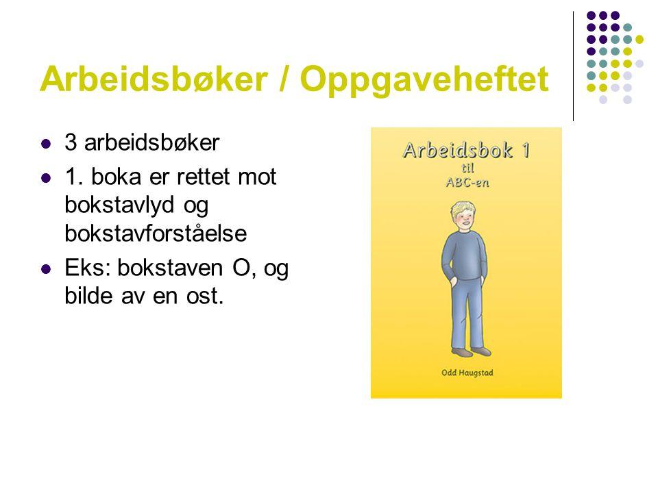 Arbeidsbøker / Oppgaveheftet