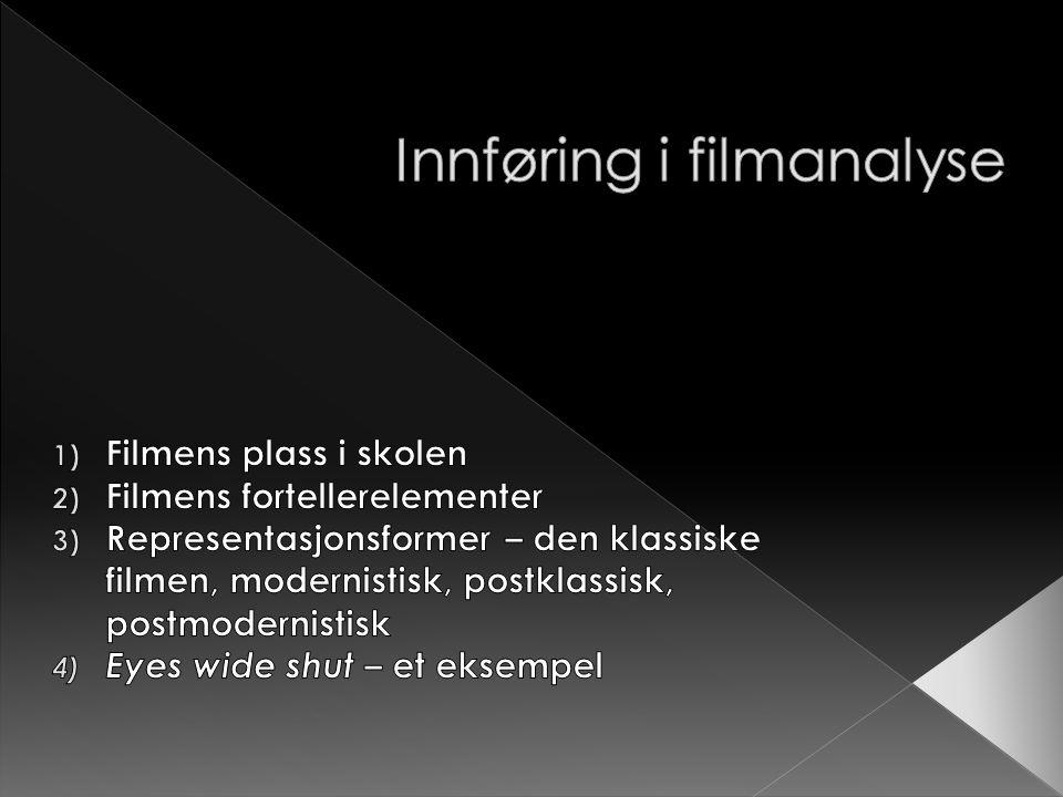 Innføring i filmanalyse