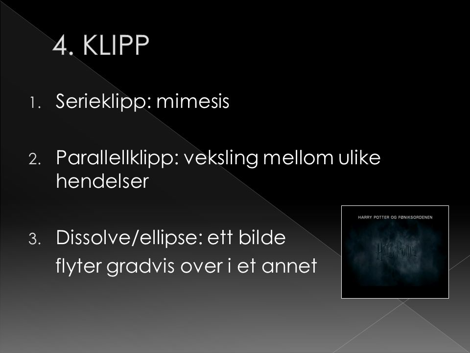 4. KLIPP Serieklipp: mimesis