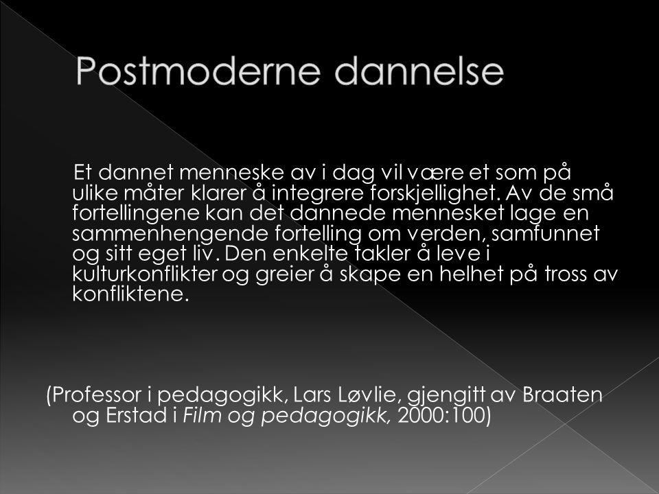 Postmoderne dannelse