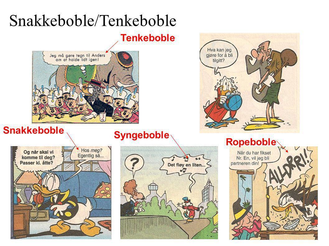 Snakkeboble/Tenkeboble
