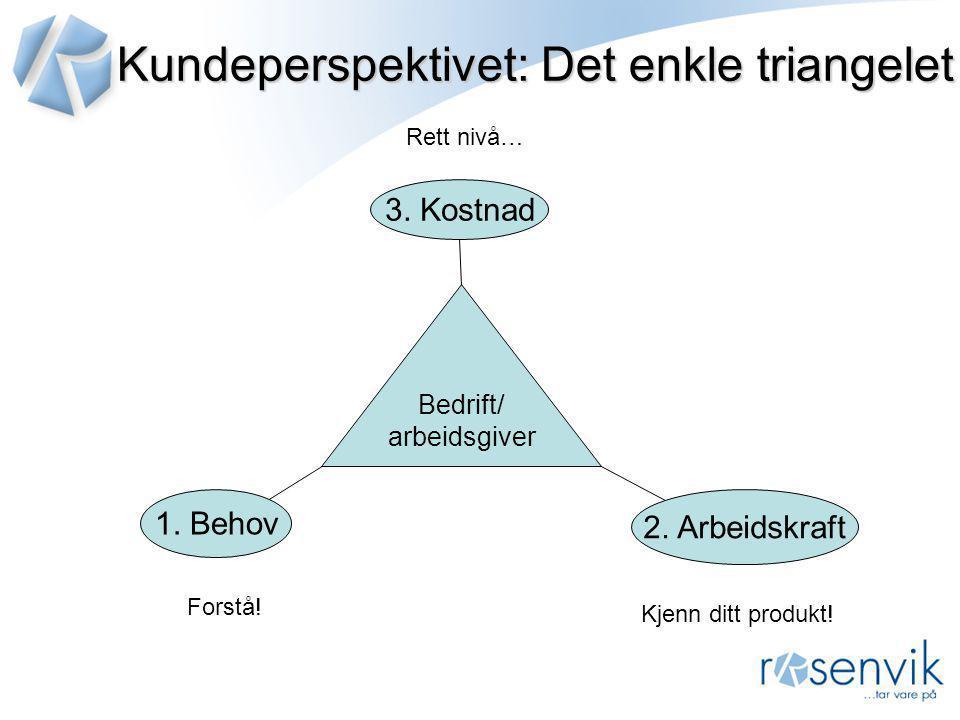 Kundeperspektivet: Det enkle triangelet