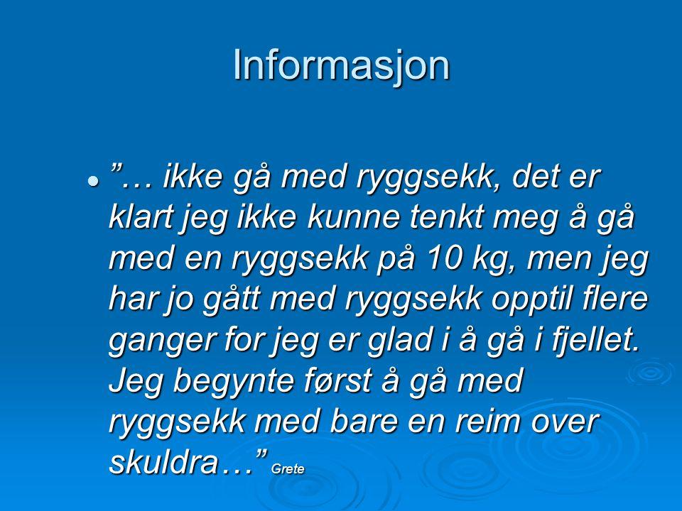 Informasjon