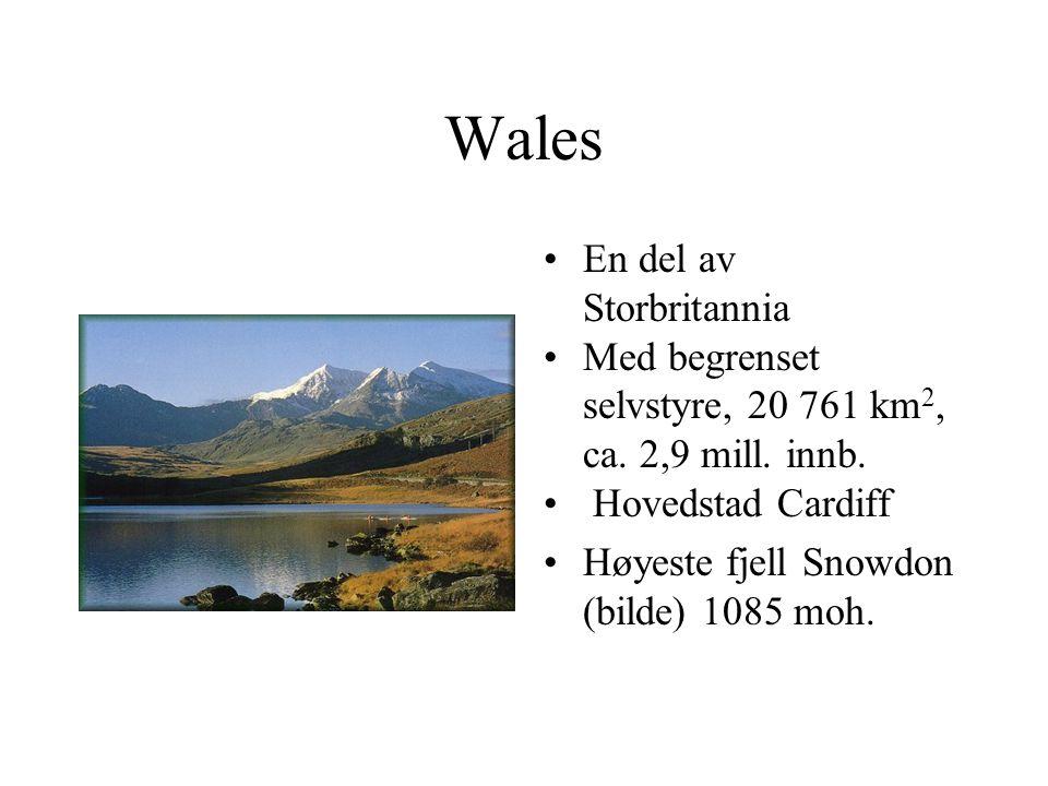 Wales En del av Storbritannia