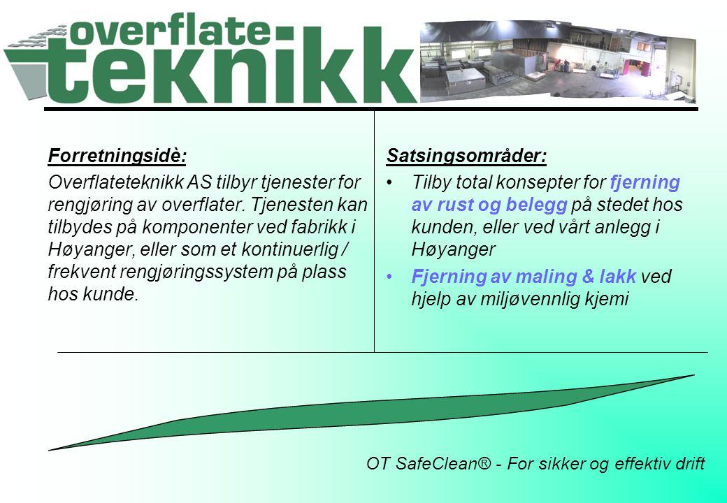 OT SafeClean® - For sikker og effektiv drift