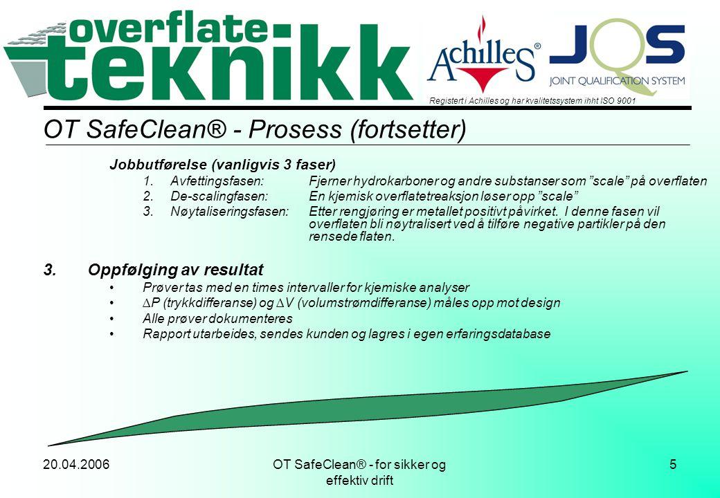 OT SafeClean® - Prosess