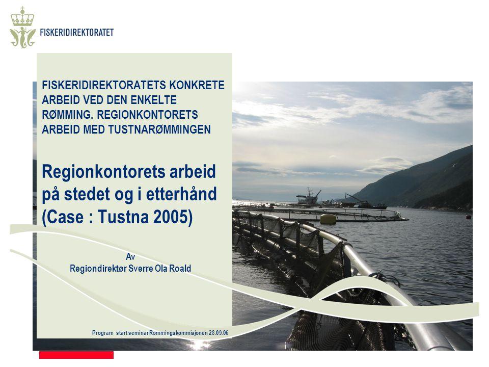 Program start seminar Rømmingskommisjonen 28.09.06