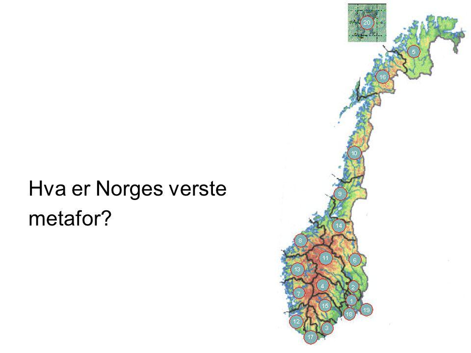 Hva er Norges verste metafor