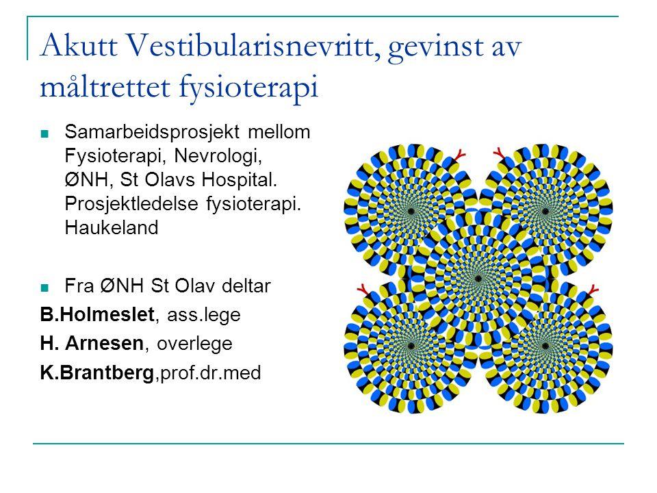 Studiens mål Validere et internasjonalt akseptert selvrapporteringsskjema på norsk. Vurdere funksjonsnedsettelse hos voksne med HT.