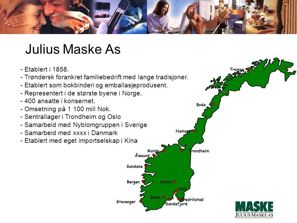 Molde Trondheim. Fredrikstad. Ålesund. Bodø. Namsos. Tromsø. Dokka. Oslo. Bergen. Sandefjord.