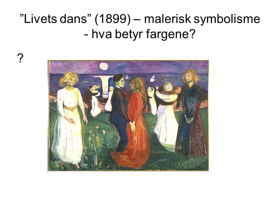 Livets dans (1899) – malerisk symbolisme - hva betyr fargene