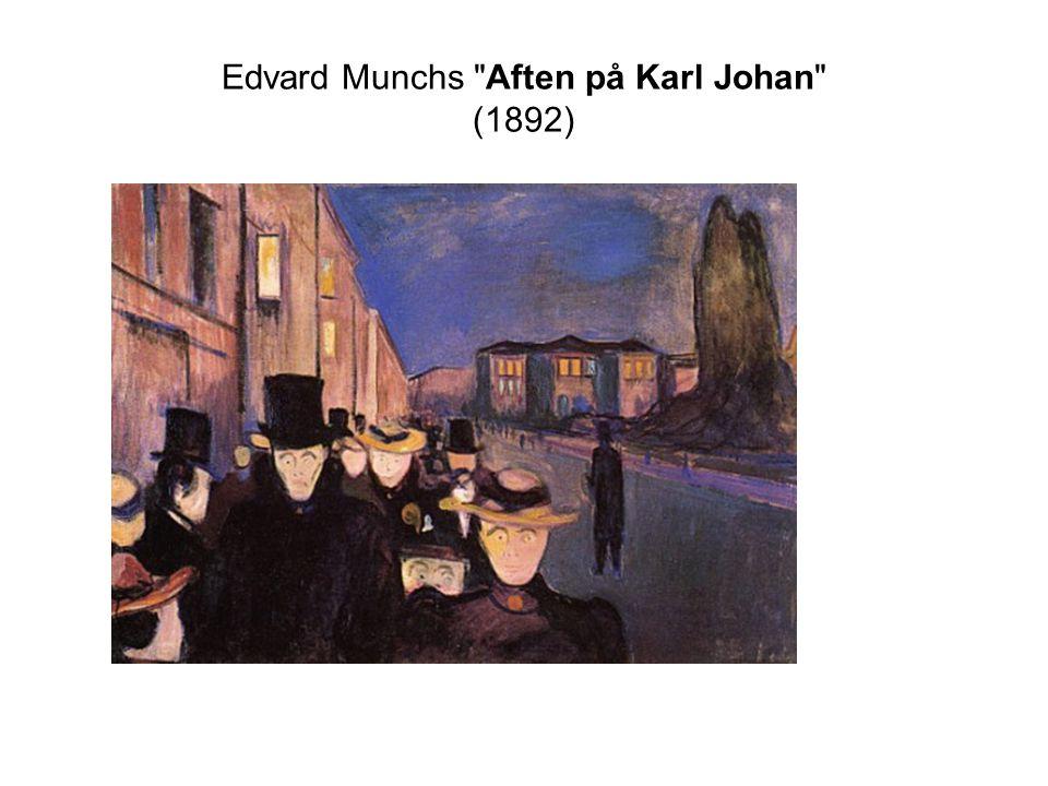 Edvard Munchs Aften på Karl Johan (1892)